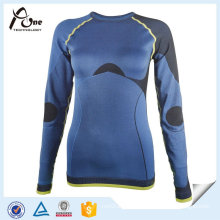 Design Seamless Thermal Long Sleeve Women Shirt