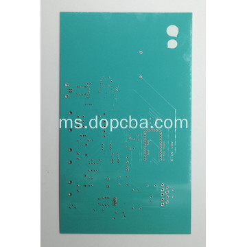 2Layer Teal Color PCB Circuit Board Prototype Service