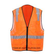 ANSI Reflective Safety Vest with Pockets