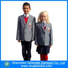 Uniforme de l'école primaire internationale New Style 2016 en conception différente