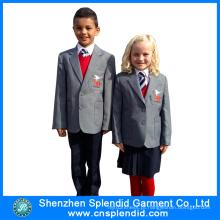 2016 New Style International Uniforme Escolar Primário em Desenho Diferente