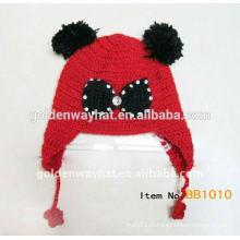 Chapeaux de bébé Beanie tricotés bon marché