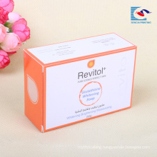 Wholesale Price Travel Soap Box Packaging Box With Custom Logo and Label Sticker
