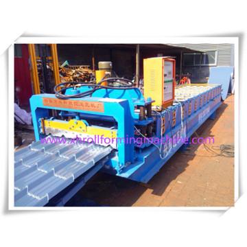 Hoja de acero galvanzed esmaltado máquina formadora de rollos de material para techos de azulejo