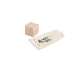 Magic Cube Wooden Toys in Cotton Bag (CB1107-1)
