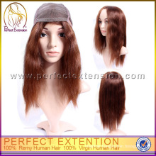 32 Inch Long Yaki Straight Human Hair Full Lace Remy Wigs