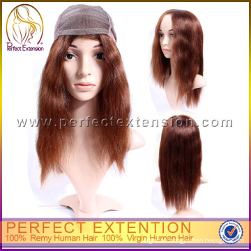 Glueless Brazilian Remy Full Lace Wig Wigth Bangs For Black Women