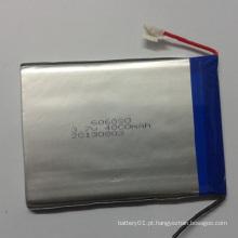 Li-Polymer Battery 3.7V 4000mAh Lithium-Polymer Lipo Battery 606090