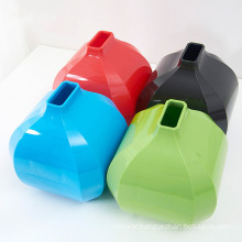 Colorful Creative Pure Color Plastic Tissue Holder (ZJH025)