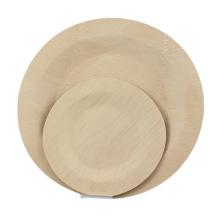 hot sale bamboo biodegradable plates disposable for house party supplies