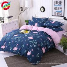 Cheap 100% algodón impreso 3d ropa de cama hoja de tela del juego