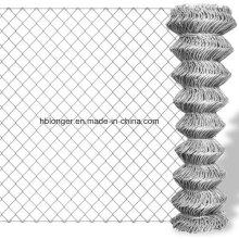 Cadena galvanizada caliente-sumergida, alambre malla diamantes cerca alambre acoplamiento