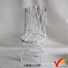 Francês, país, redondo, sentando, ferro, antigüidade, dobrando, jardim, cadeiras