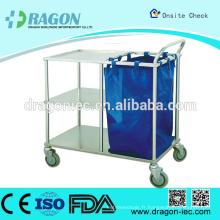 DW-TT211 Chariot pour le marquage du lit et l'infirmerie chariot de nettoyage de l'hôpital sur la réduction