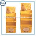Дисплей картона Dumpbins,Розничная Dumpbins для шоколада