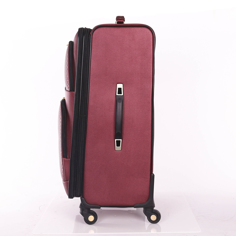 Great print PU travel luggage