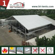 30X60m zweistöckiges Zelt / Doppeldeckerzelt für Catering und Holispitality