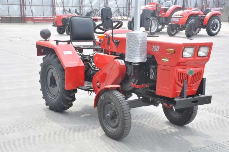Agricultural 2WD 20HP 200 Compact Wheeled Farm Tractors