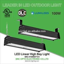 2ft LED Linear Highbay, 100W Linear High Bay for High Racks, UL DLC LED Highbays