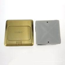 Yumo Hgd-2f-EU Messingabdeckung Erdungsbuchse Elektrische Pop-up-Boden Sockel