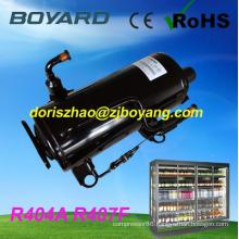 refrigeration spare R22 R404A horizontal rotary compressor refrigeration replace sc15cl for commercial salad refrigerator