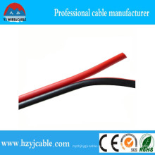 Cable negro y rojo del altavoz del aislamiento del PVC CCA 2 * 0.5mm2