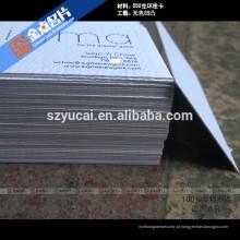 Impressoras de cartão de visita de luxo tipográficas com carimbo quente