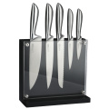 5 PCS HOLLOW HANDLE KITCHEN KNIFE SET