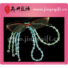 lastest popular Handmade little safe Fashion Crystal Beaded Sunglass Fashion Lanyard