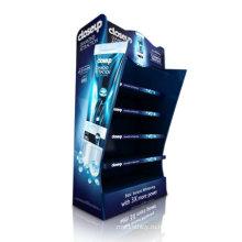 Картонный дисплей для чистых кремов, подставка для магазина поп-магазина