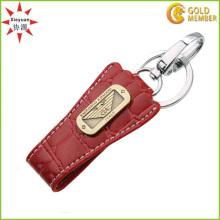 Porte-clés personnalisé en caoutchouc de mode