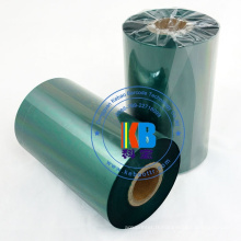 Zebra Godex TSC Labeler Ruban pour imprimantes d'étiquettes de qualité supérieure en couleur verte, noyau 110 x 300 m, 1 pouce