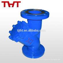 dn80 brida asme estándar fundición de hierro y micro colador