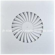 Square Decke Swirl Diffusor aus SPCC