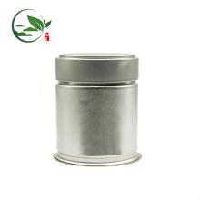 Druck Logo Matcha Pop-Top-Stash Jar, Weißblech Matcha Jar mit Schraubdeckel