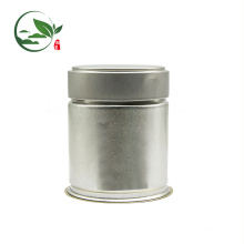 Printing Logo Matcha Pop-top Stash Jar , Tinplate Matcha Jar With Screw Lid