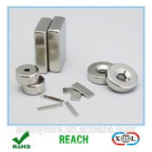 customized size nickel coating ndfeb magnet