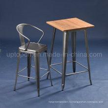 Ксавье Pauchard tolix металла Ретро бар стол (СП-BT701)