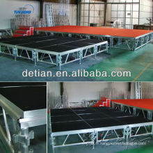 Chine Fabricant poids léger montage scène treillis toit événement tente aluminium poutre treillis étape fermes