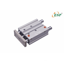 High non-rotating accurancy MGP series pneumatic new compact tri-rod cylinders