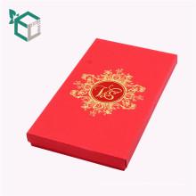 Верхний Картонный складной красный цвет книга в форме коробки вина Упаковывая для бутылки