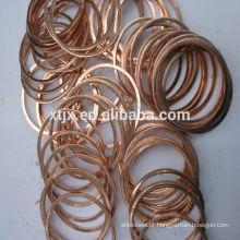 arruela de cobre plana
