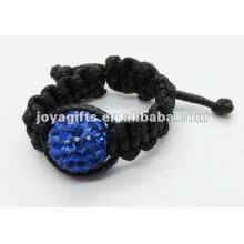Кристалл тканое кольцо shamballa