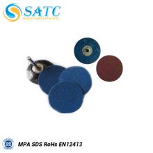 Carboneto de silício redondo lixar disco de troca rápida para o metal