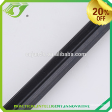 Low price black nickle fixed single rod plated curtain pole