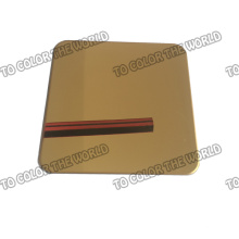 High Quality 304 Stainless Steel Color Sheet for Decoration Materials