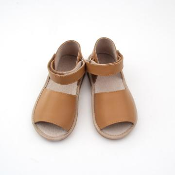 Fesyen Brown Kids Sandal Squeaky 2018