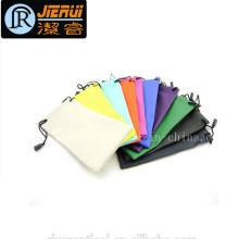 Novo Produto Promocional Atacado Microfiber Custom Sunglass Drawstring Pouch Bag
