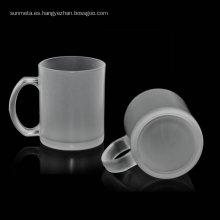 Personablised printing blank matte 11oz glass sublimation