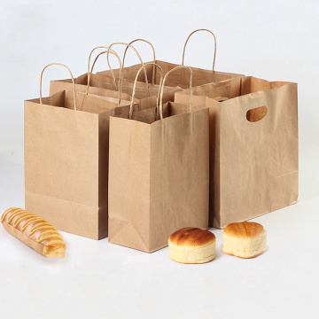 Bake and Fruit Kraft Paper Bag Kemasan Supermarket